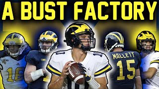 Michigan is Where a QUARTERBACKS Career GOES TO DIE (Are They a Bust Factory?)