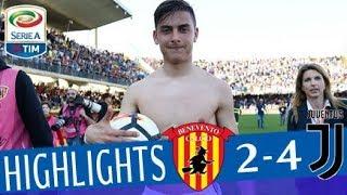 Benevento - Juventus 2-4 - Highlights - Giornata 31 - Serie A TIM 2017/18