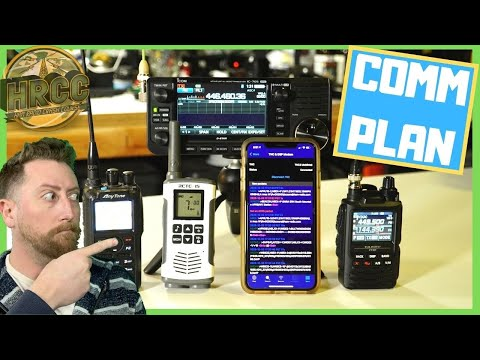 Making a Family And Group Emergency Radio Communications Plan