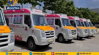 "KTR keeps his word; gifts six Ambulances under ""Gift a smi.."