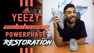 Restoring adidas Yeezy Calabasas Powerphase Grey