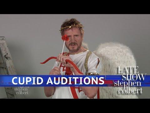 Liam Neeson's Cupid Audition