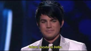 "Performance de ""Feeling Good"" - Adam Lambert, TOP 5, American Idol (2009) - legendado"