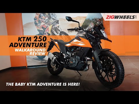 KTM 250 Adventure Walkaround Video   Expected Price, Launch Date, Features & More
