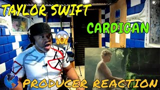 Producer Reacts to Taylor Swift  Cardigan Official Music Video