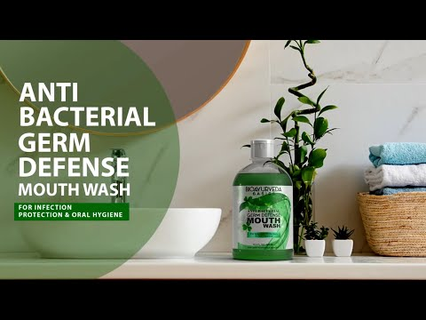 ANTI-BACTERIAL GERM DEFENSE MOUTH WASH