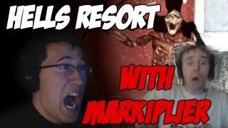 Hells Resort w/ Markiplier | MASSIVE JUMPSCARE!