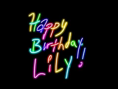 Lily love birthday fantasy