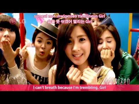 SNSD - Gee HD MV 【eng • romanization • hangul】