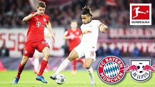 FC Bayern München vs. RB Leipzig I Highlights I Werner Miss & Great Gulacsi Save