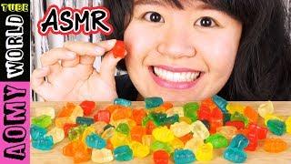 ASMR Gummy Bear | Candy EATING SOUNDS | MUKBANG 먹방 | Eating Show | AomyWorldTUBE | YUMMY ❤
