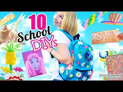 10 Back-To-School DIY Projects – Awesome DIY School Supplies