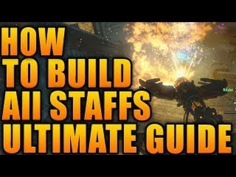 Black Ops 2 Zombies Origins How To Build All Elemental Staffs - BO2 Origins ALL Staffs TUTORIAL - Smashpipe Games