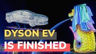 Why has Dyson abandoned its EV Project in Singapore?