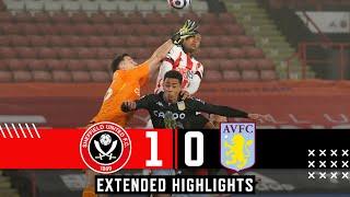 Sheffield United 1-0 Aston Villa   Extended Premier League highlights