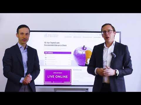 Utbildningar live online - Bergström & Hellqvist