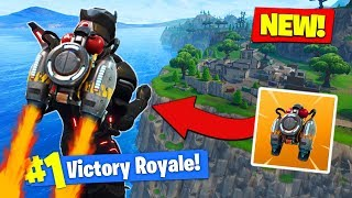 *NEW* JETPACK ITEM Coming Soon To Fortnite Battle Royale!