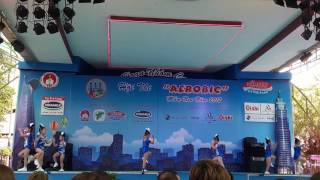 Hội thi aerobic mầm non 2017-ước mơ tuổi thần tiên