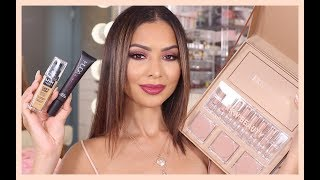 FULL FACE NEW MAKEUP NYX, KKW BEAUTY, HUDA BEAUTY | Diana Saldana