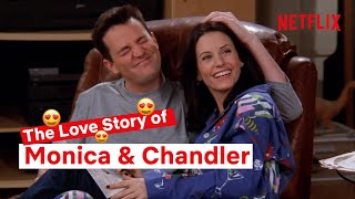 The Full Monica and Chandler Story | Friends