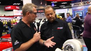 Precision Turbo & Engine at the 2014 PRI Show
