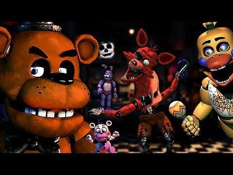 Cast List: Five Nights at Freddy's: Ultimate Custom Night