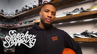 Damian Lillard Goes Sneaker Shopping With Complex