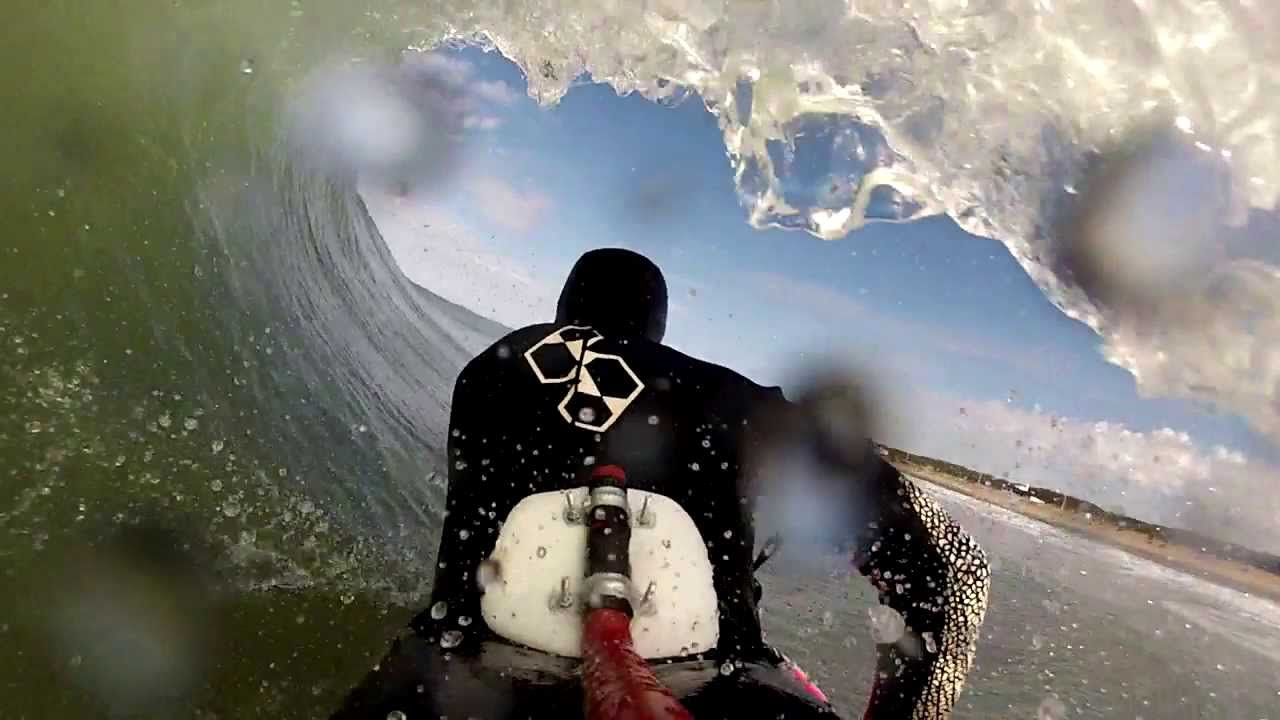 Gopro Bodyboard mount extended pole // Necochea - YouTube
