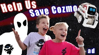 Can Ninja Kidz save Cozmo the Robot!