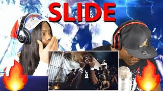 Yak Yola feat. King Von - Slide (Official Music Video) REACTION