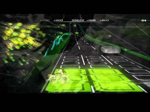 Audiosurf: Megurine Luka-Excalibur by Caz