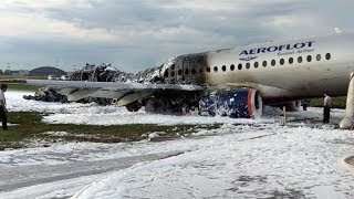 Most Russian plane crash victims killed by fire, rather than impact, says investigator