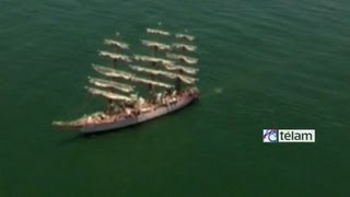 Los desos de los tripulantes de la Fragata Libertad