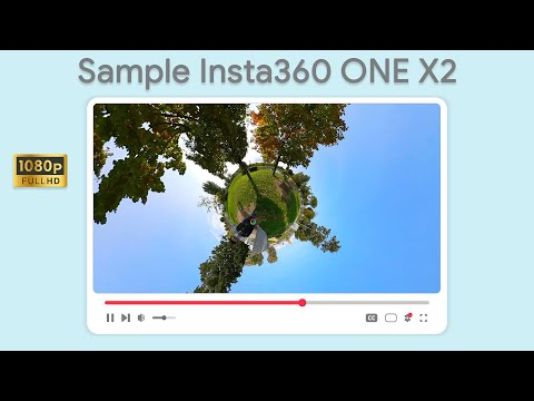 Test di ripresa da Insta360 ONE X2