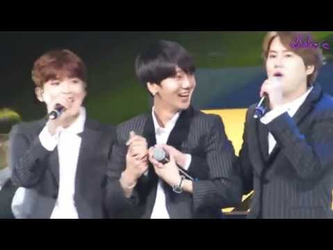Yesung wants to be part of Kyuhyun & Ryeowook hug!