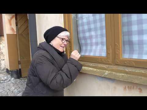 Fönsterrenoveringens dag - laga trasigt kitt