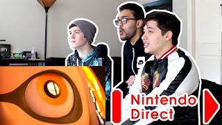 Nintendo Direct Live Reaction 3.8.2018 (Feat MunchingOrange & PokeCinema)