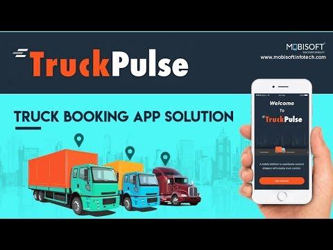 Truck Pulse | Custom Truck Booking App Solution | Mobisoft Infotech