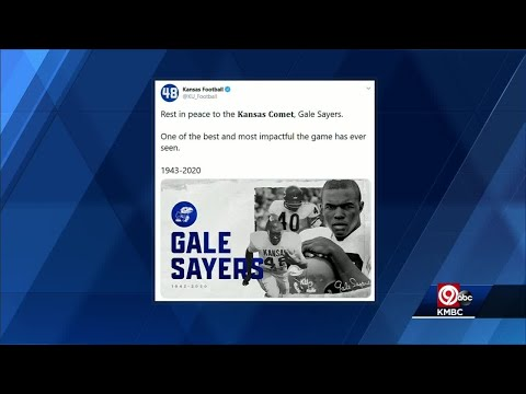 RIP Kansas Comet: Former KU star, NFL legend Gale Sayers passes away