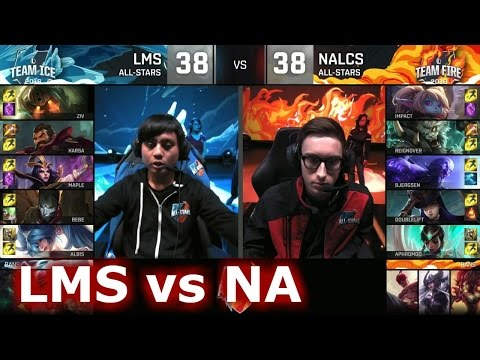 NA LCS vs LMS All-Stars Barcelona 2016. International All-Star Event 2016  lol. League of Legends AllStar VOD. 2016 All-Star Event full playlist: ...