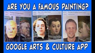 Are you a Famous Painting?   Google Arts & Culture App   Find Yourself in a Museum