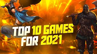 Top 10 Mobile Games of 2021 for Android and iOS!