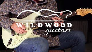 Fender Custom Shop Masterbuilt Jason Smith Wildwood 10 1961 Stratocaster  •  SN: R96857