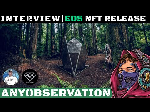 NFT Release on EOS | Interview with Stephane from EOS Nation!
