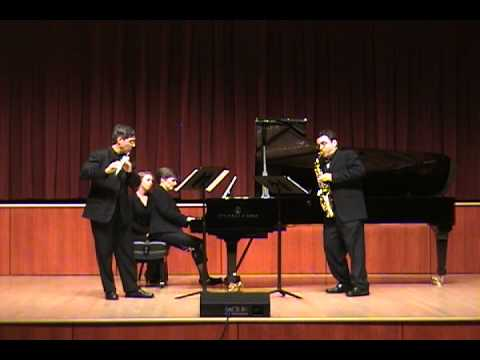 Epitaphe de Jean Harlow - Charles Koechlin (flute, saxophone, piano)