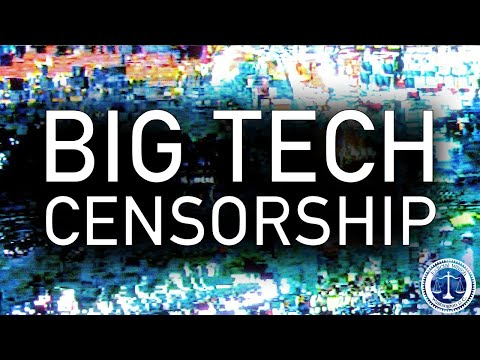 """The Great Suppression"" of Conservatives & Information by Big Tech"