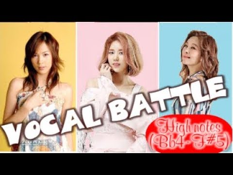 Lina린아VS Kim Yeonji김연지VS Ock Joohyun옥주현| 고음배틀 Vocal Battle