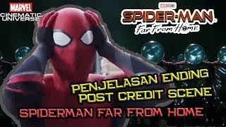 Misterio Beneran Mati ! | Penjelasan Ending & Post Credit Scene Spider-Man Far From Home (Part 1)