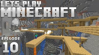 Let's Plays Minecraft - Ep. 10: Q&A CAVING! (1.17 Minecraft Let's Play)