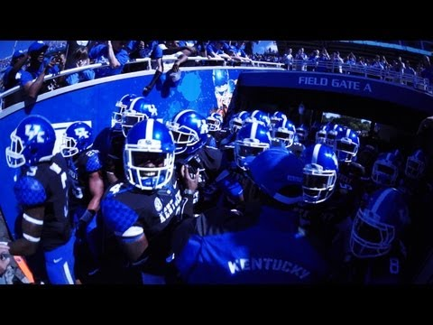 Kentucky Wildcats TV: Kentucky Football Team Pump Up Vid vs. South Carolina